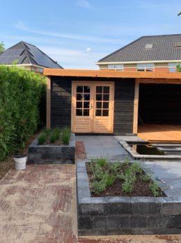 Compleet nieuwe tuin in Duiven