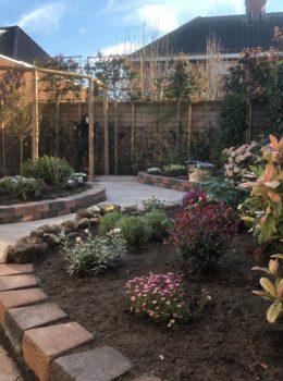 Tuinontwerp wordt tuin